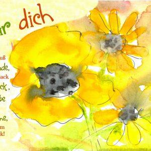 1665 Strauß voll Blumen