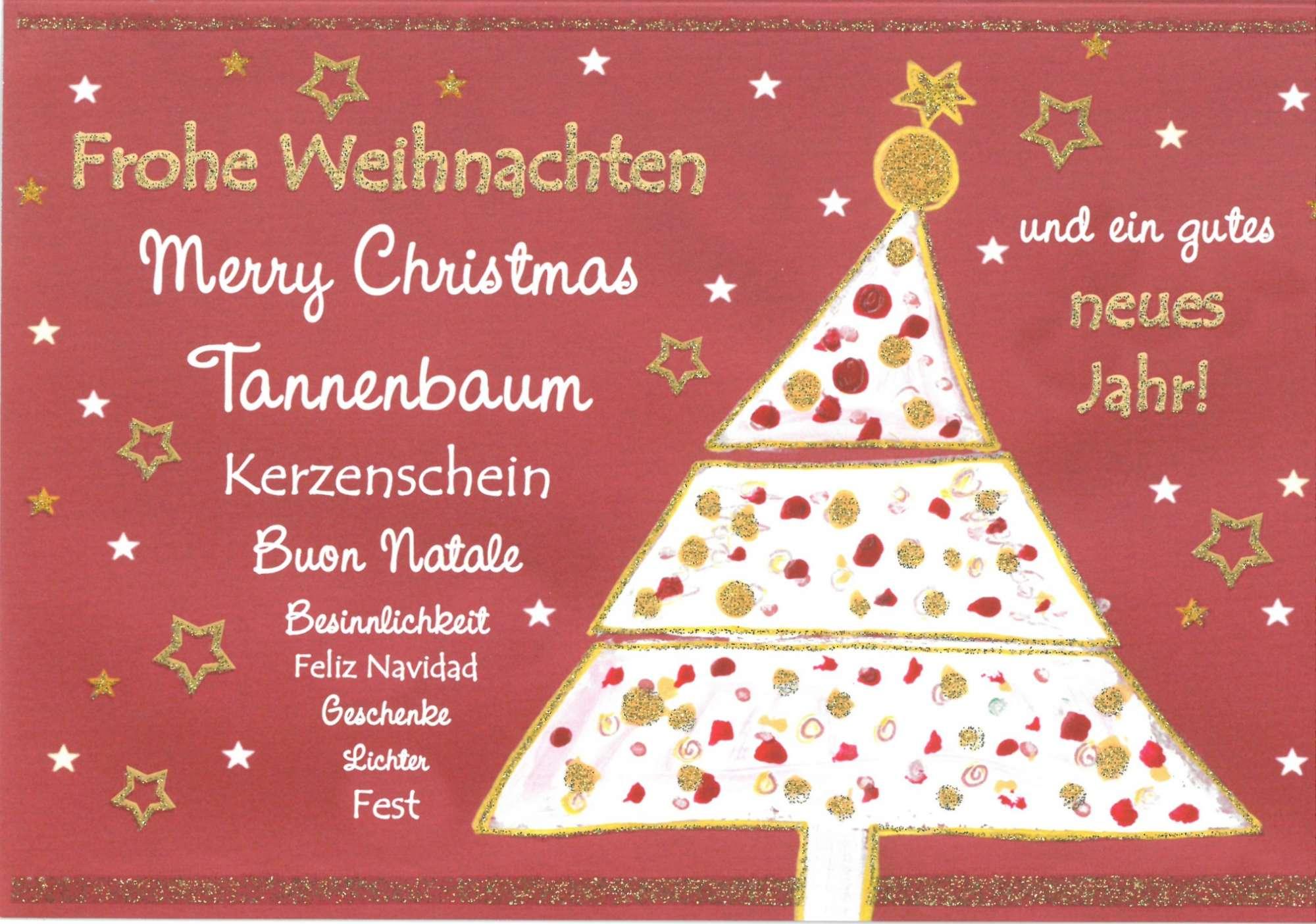 Weihnachtsbaum RSC Karten