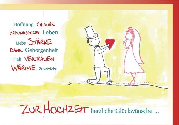 Hochzeitswünsche - RSC Karten